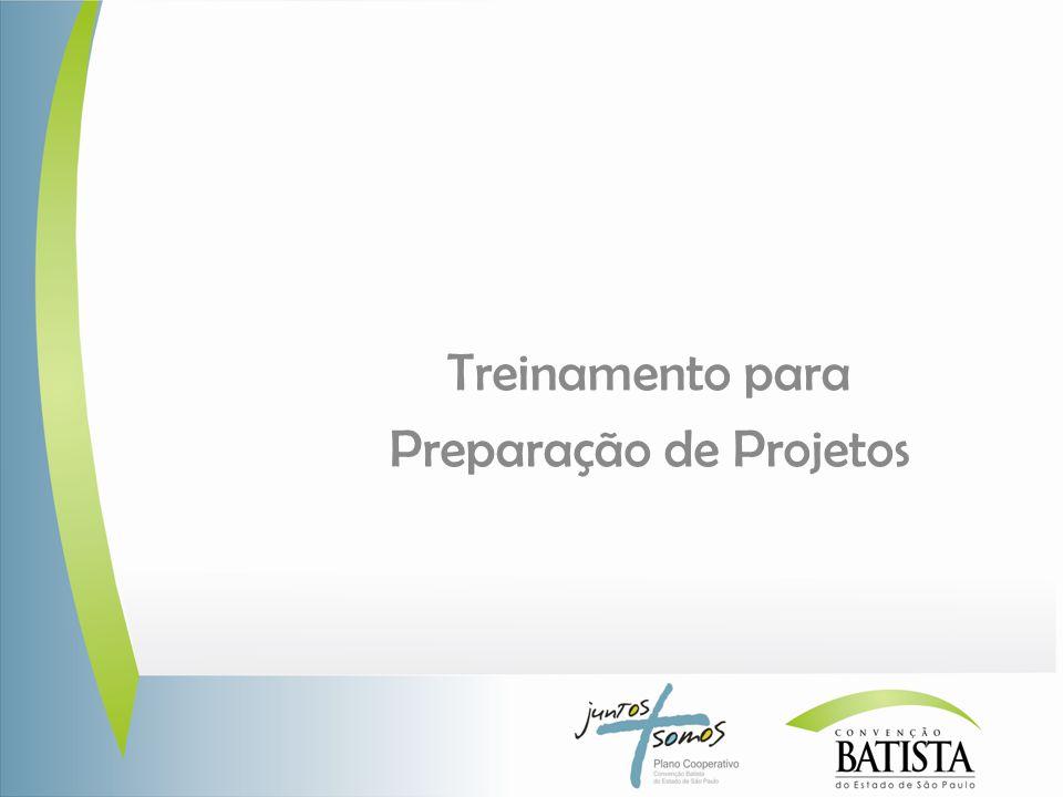 Treinamento para Preparação de Projetos