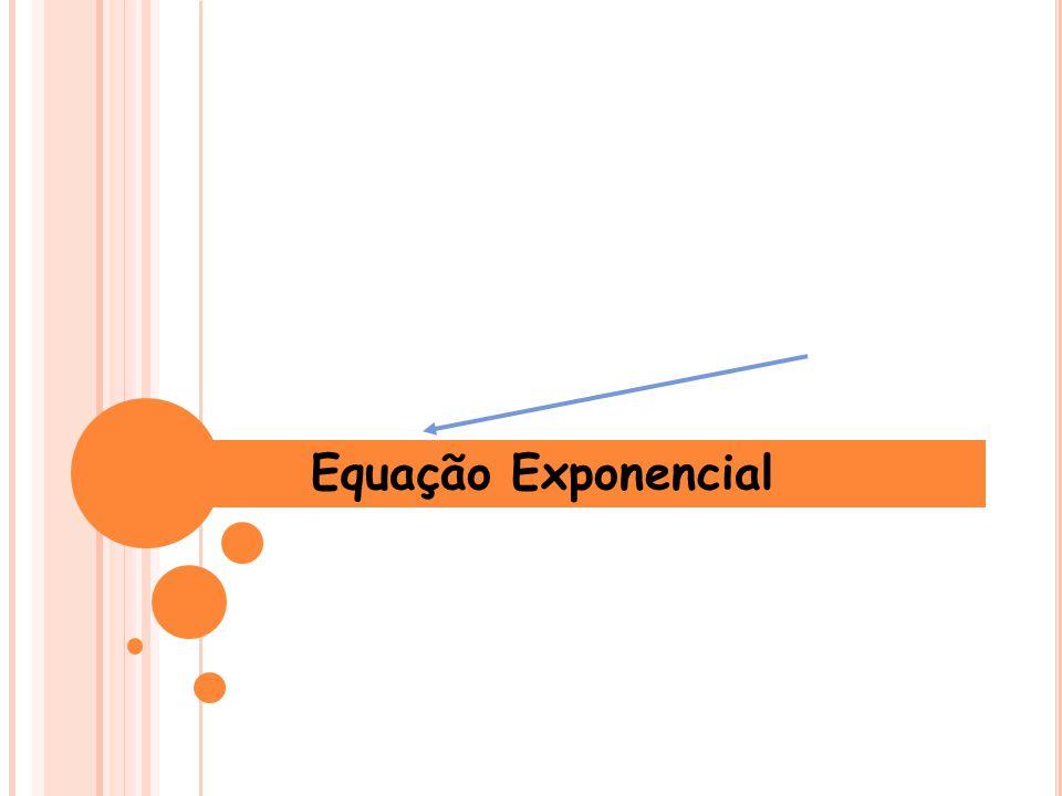 Equação Exponencial 1