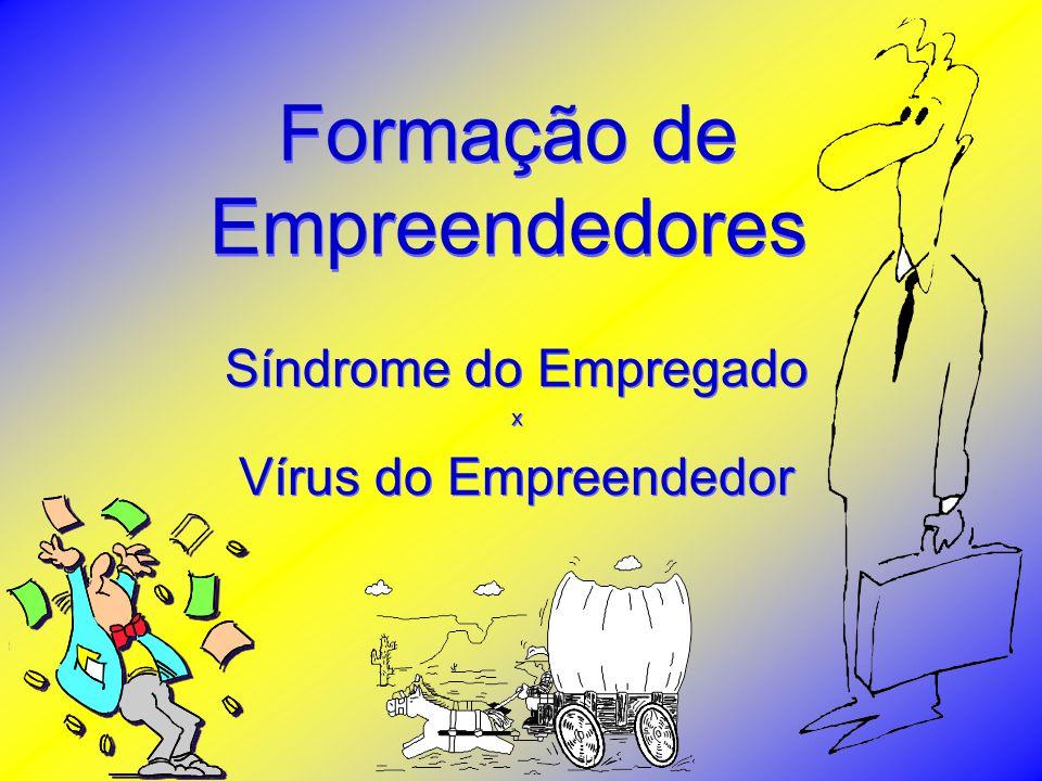 Formação de Empreendedores Síndrome do Empregado x Vírus do Empreendedor Síndrome do Empregado x Vírus do Empreendedor 11