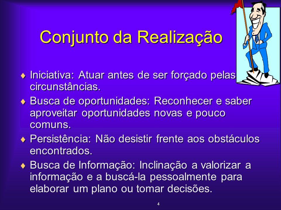 Os Valores da Sociedade Brasileira em Relação ao Trabalho  O empreendedor é alguém que imagina, desenvolve e realiza uma visão.