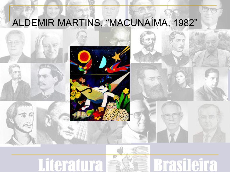 """ALDEMIR MARTINS, """"MACUNAÍMA, 1982"""""""