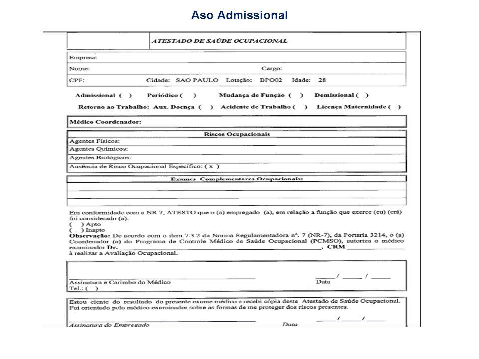 Documentação dos Demitidos no mês (Rescisão Contratual) PORTARIA No 1621 DE 14 DE JULHO DE 2010 - Novo Termo de Rescisão