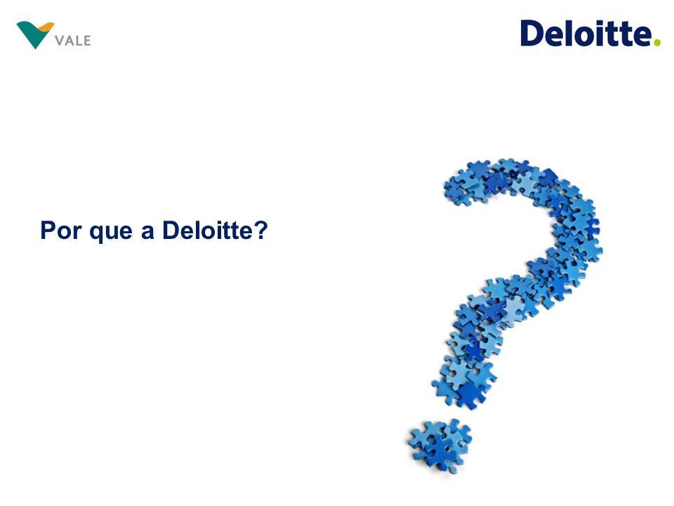 Por que a Deloitte?