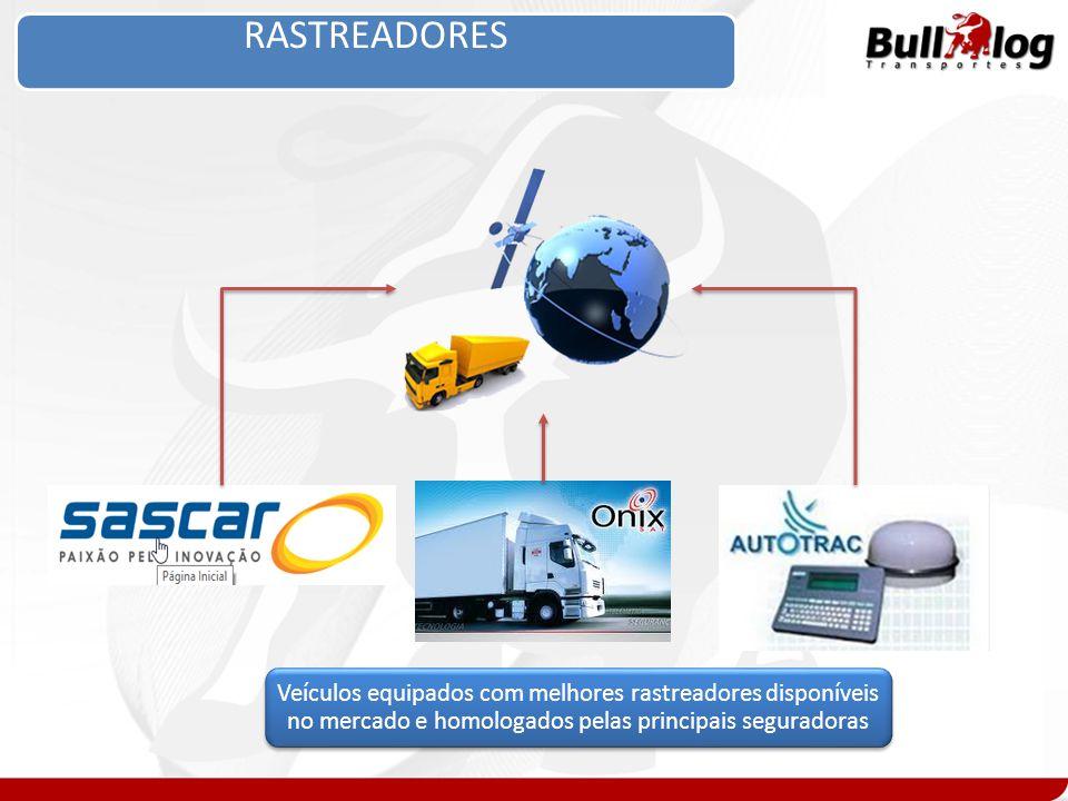Veículos equipados com melhores rastreadores disponíveis no mercado e homologados pelas principais seguradoras RASTREADORES