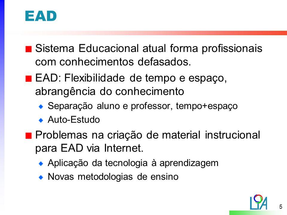 6 EAD - Problemática e Desafios Problemática: Dificuldade em balancear a quantidade de informação.