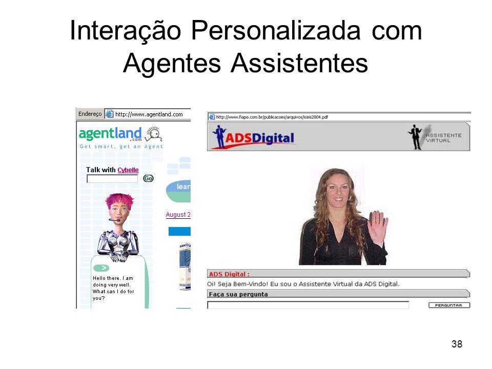38 Interação Personalizada com Agentes Assistentes