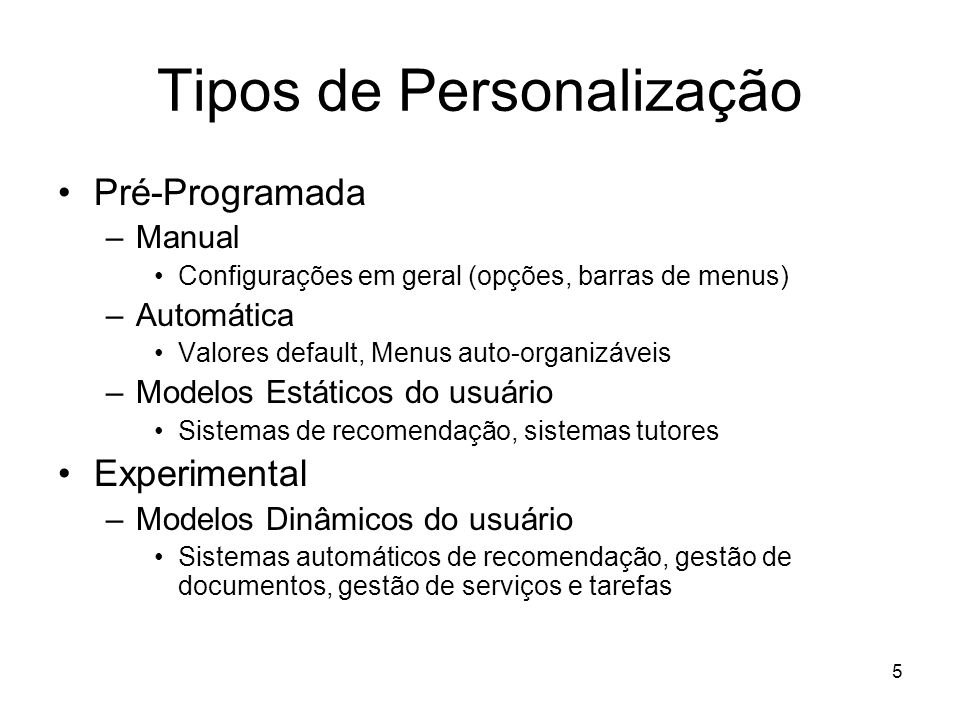 26 Personalizando Recuperação de Informação na Web Query Web Search Engines Web Pages Spam Web Space Diferent Databases Different Measures NoisyMany Engines User context