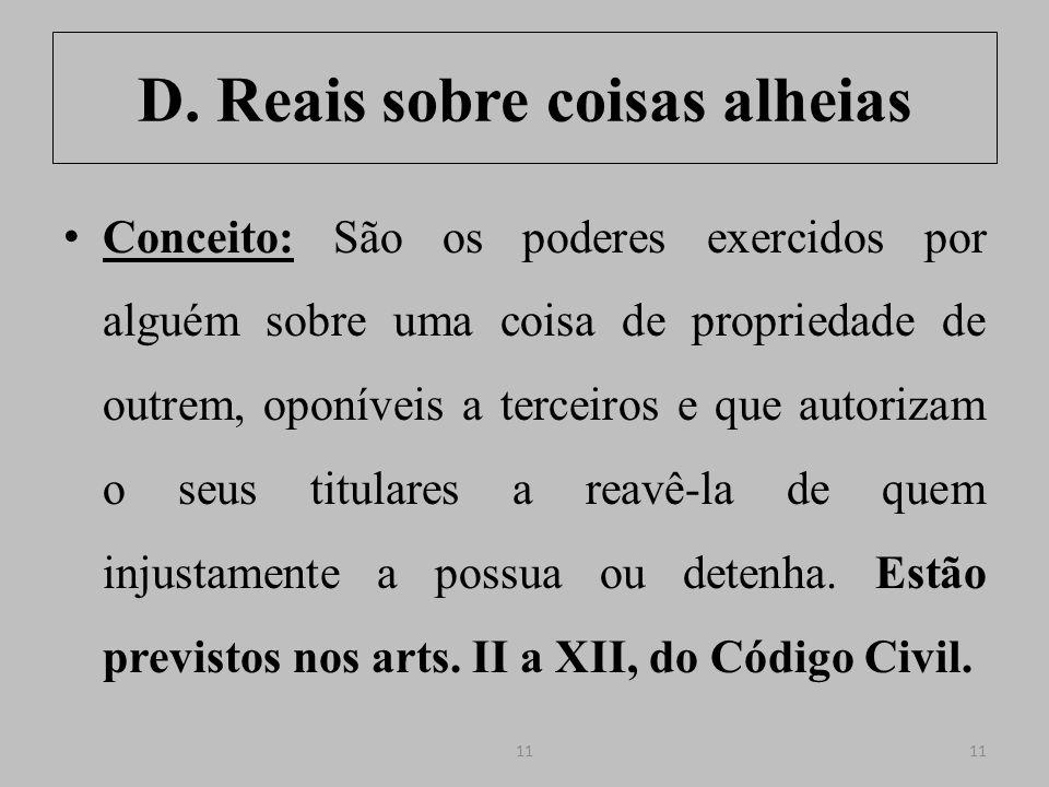 Superfície (CC, arts.