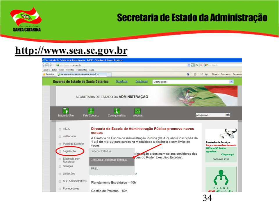 34 http://www.sea.sc.gov.br