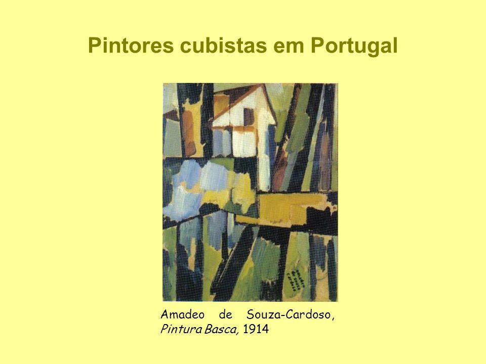 Pintores cubistas em Portugal Amadeo de Souza-Cardoso, Pintura Basca, 1914