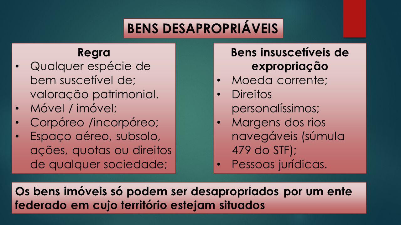 DESAPROPRIAÇÃO DE BENS PÚBLICOS Decreto-Lei 3.365/1941, art.