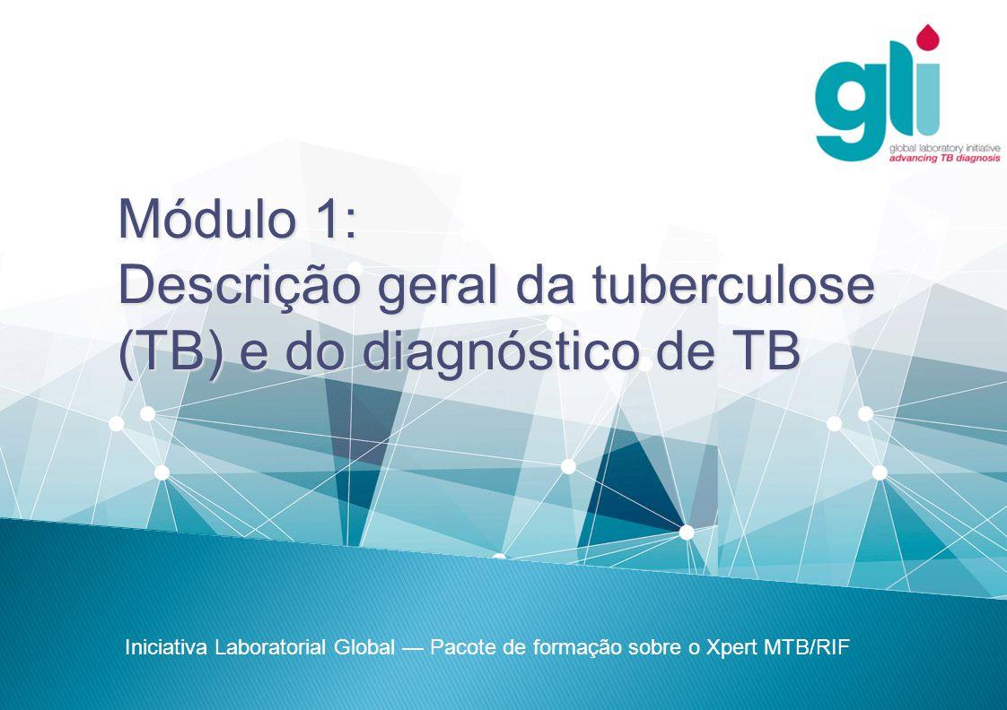 Iniciativa Laboratorial Global Pacote de formação sobre o Xpert MTB/RIF -12-  Apesar de um terço da população mundial estar infectada com TB, apenas 10% das pessoas imunocompetentes que estão infectadas irão desenvolver TB activa durante a sua vida.