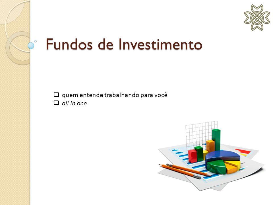 Fundos de Investimento  quem entende trabalhando para você  all in one