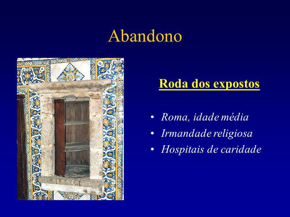 Abandono Roda dos expostos Roma, idade média Irmandade religiosa Hospitais de caridade