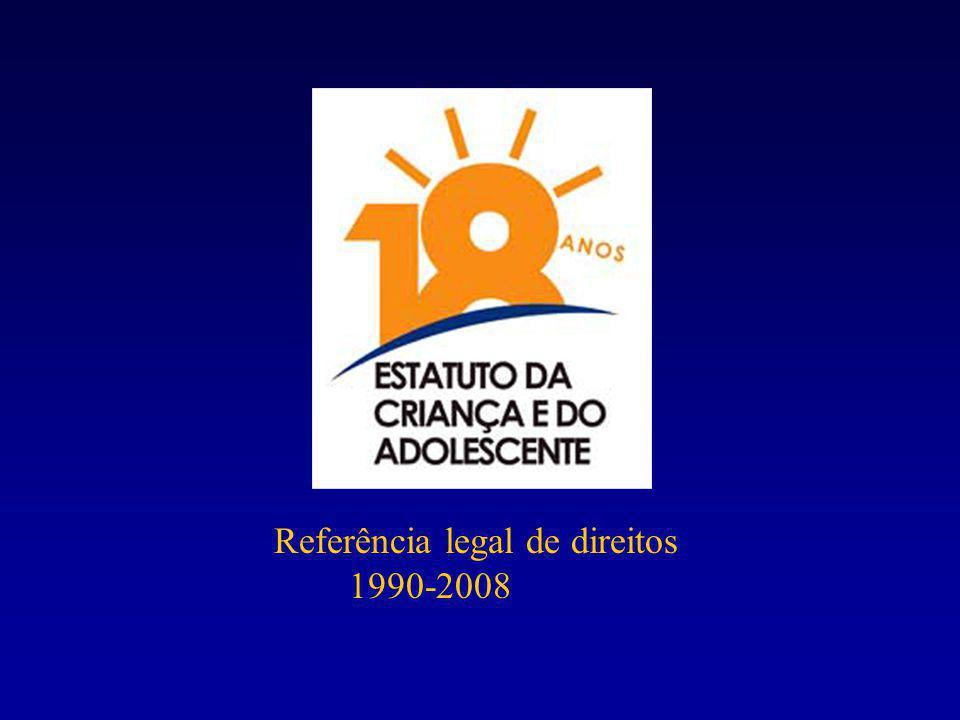 Referência legal de direitos 1990-2008