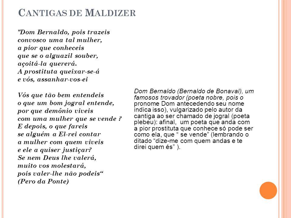 C ANTIGAS DE M ALDIZER