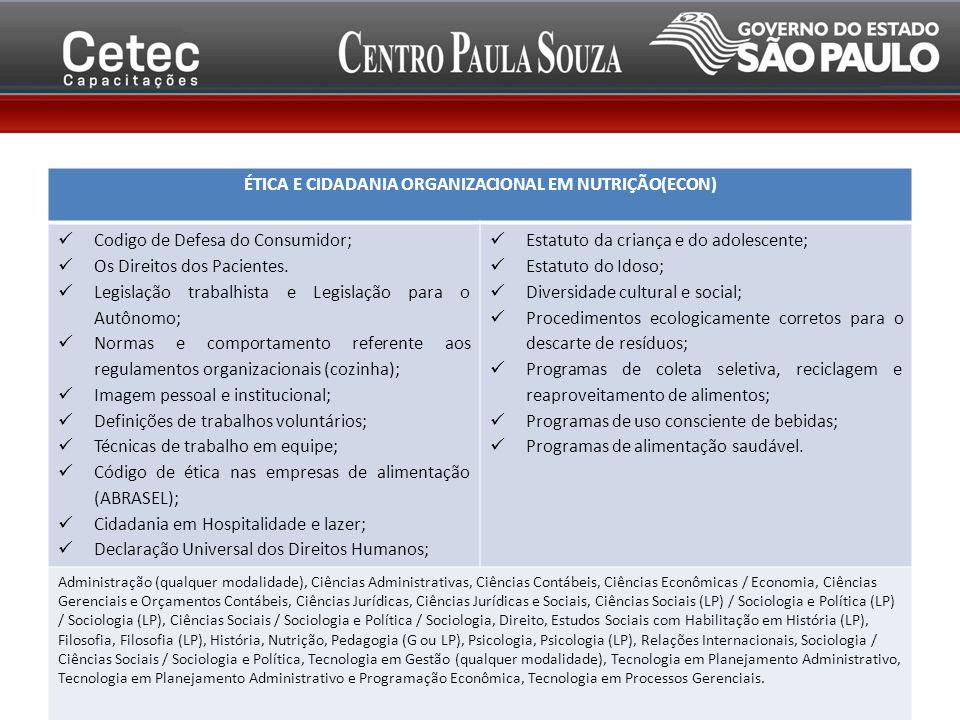 Codigo de Defesa do Consumidor; Os Direitos dos Pacientes.