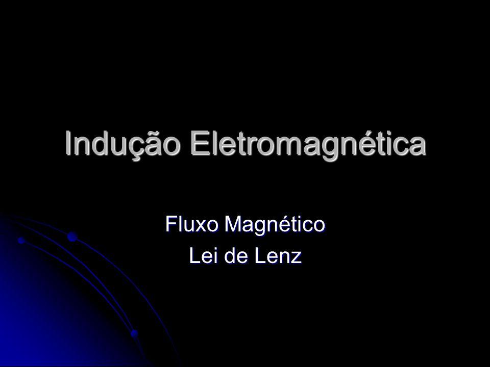 Fluxo Magnético (φ) θ A Unidade: [φ] = [B].[A] = T.m² [φ] = Wb (Webber)