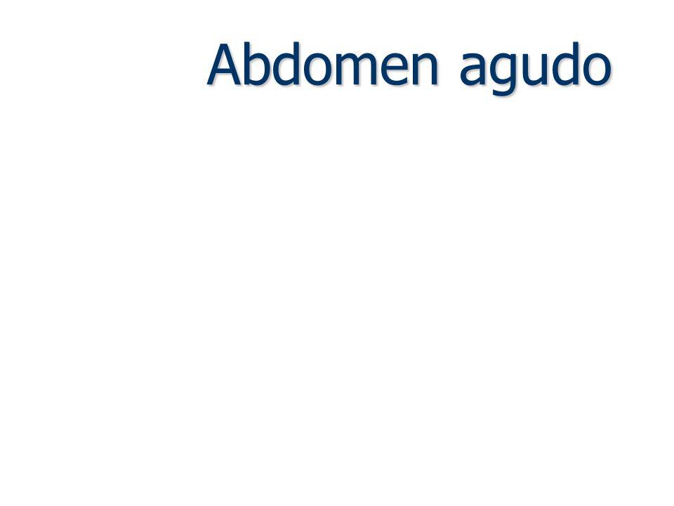 Classificação Traumático Não traumático Perfurativo Inflamatório Obstrutivo ou mecânico Hemorrágico Isquêmico Gráfico: perfil da dor.