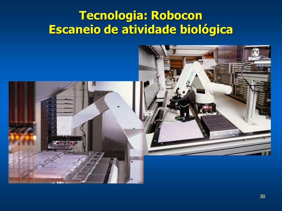 30 Tecnologia: Robocon Escaneio de atividade biológica