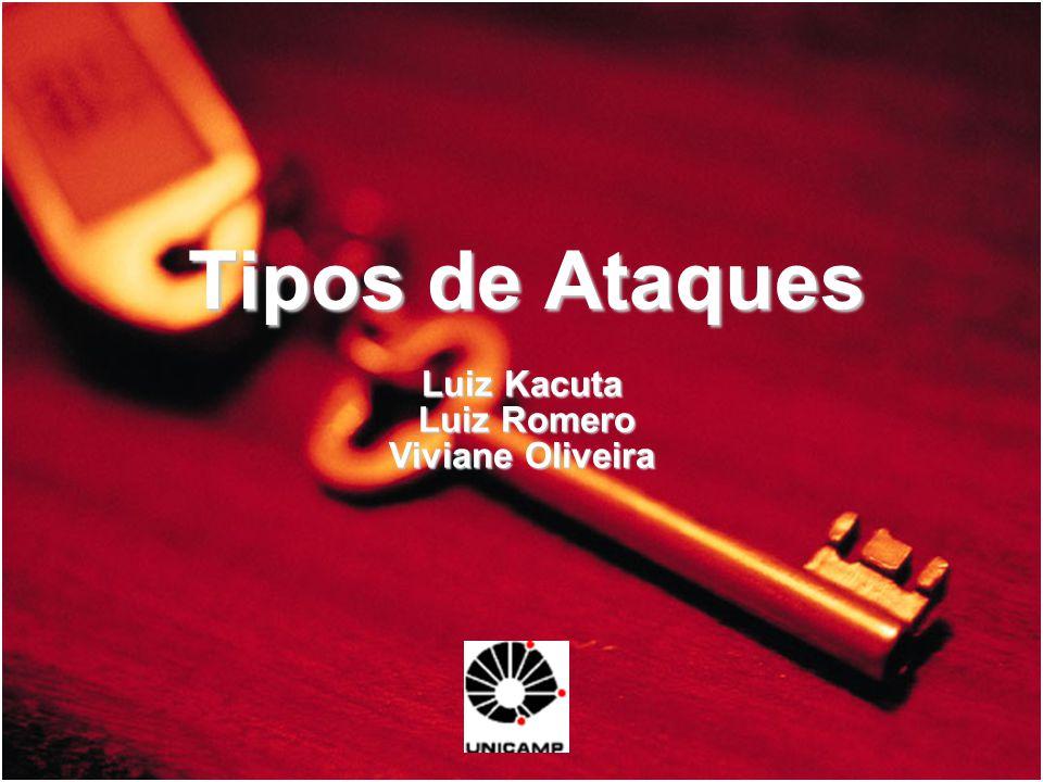 Tipos de Ataques Luiz Kacuta Luiz Romero Viviane Oliveira