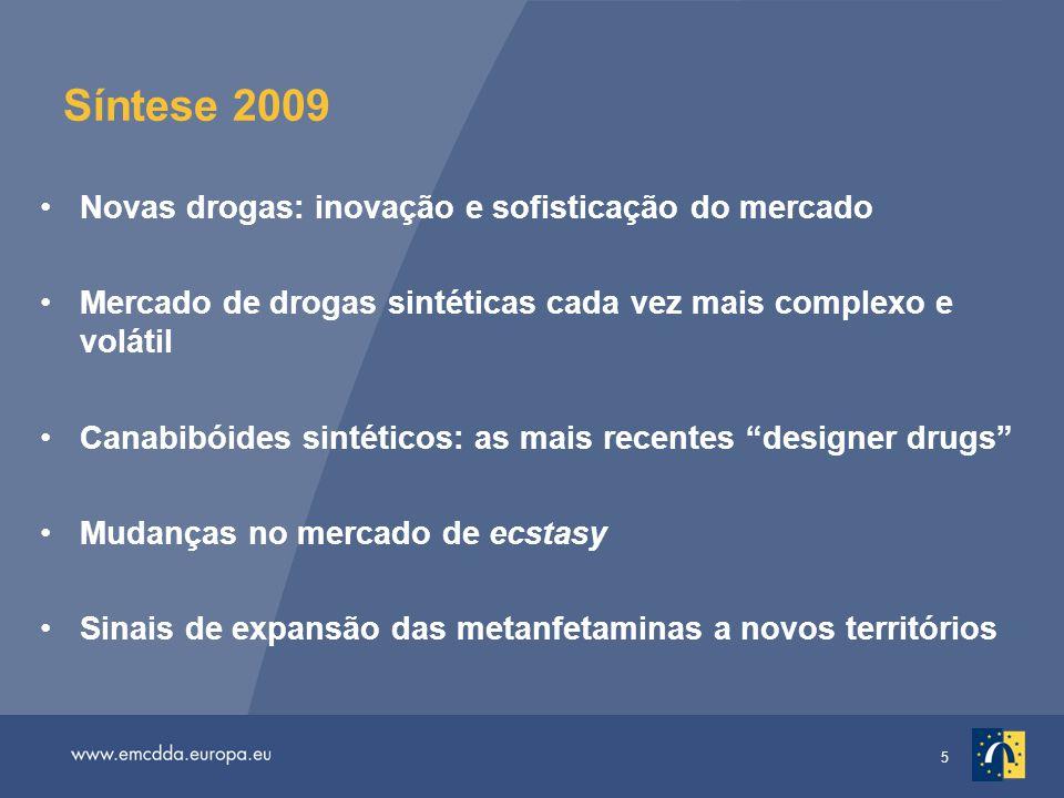 36 Tendência do número de utentes que receberam tratamento de substituição dos opiáceos entre 1993 e 2007 na UE-27