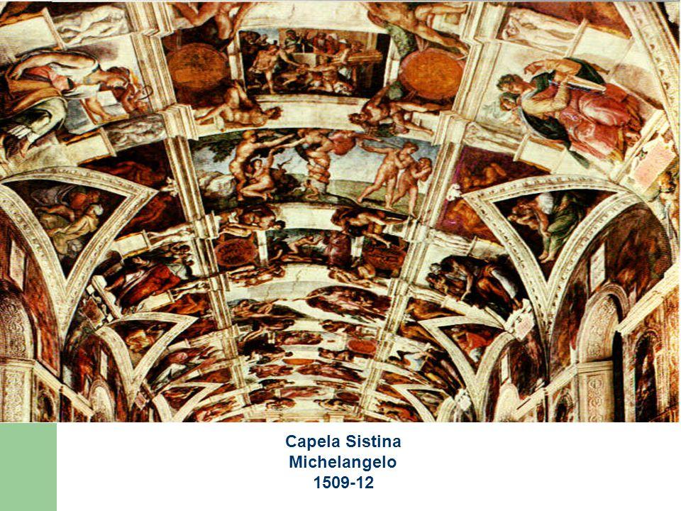 Capela Sistina Michelangelo 1509-12