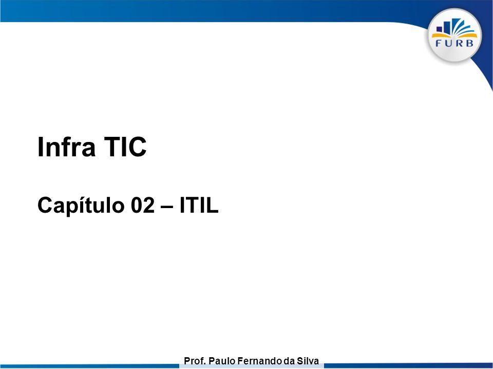 Prof. Paulo Fernando da Silva Infra TIC Capítulo 02 – ITIL