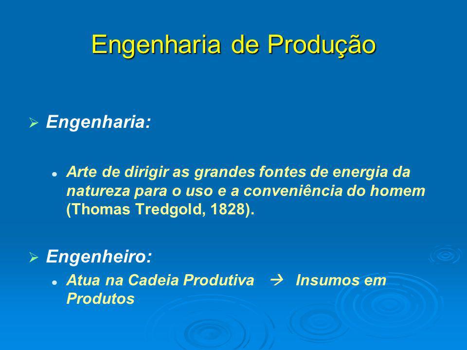   Engenharia: Arte de dirigir as grandes fontes de energia da natureza para o uso e a conveniência do homem (Thomas Tredgold, 1828).   Engenheiro:
