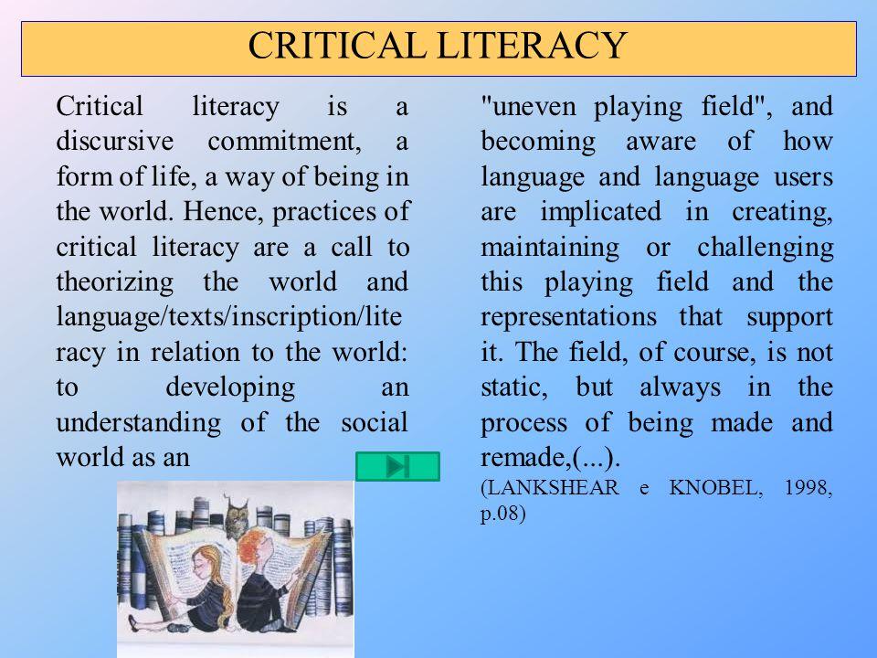 Referências BAYNHAM, M.Literacy practices. London: Longman, 1995.