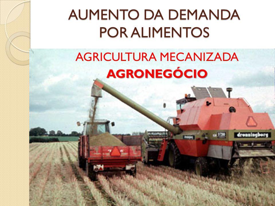 AGRICULTURA MECANIZADAAGRONEGÓCIO