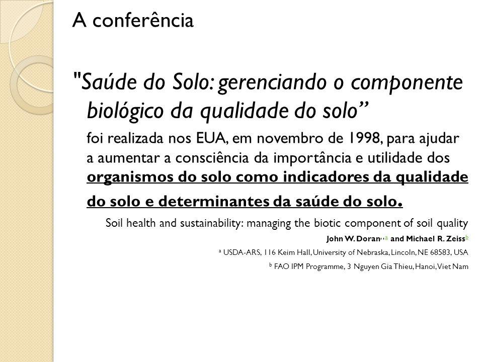 A conferência