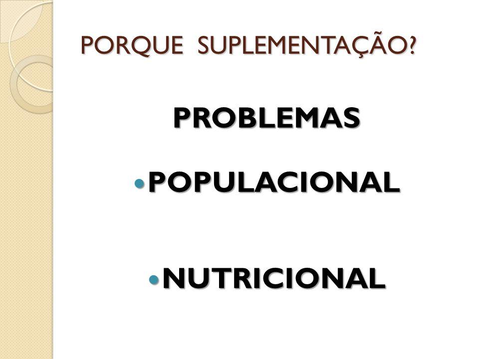 PROBLEMAS POPULACIONAL POPULACIONAL NUTRICIONAL NUTRICIONAL