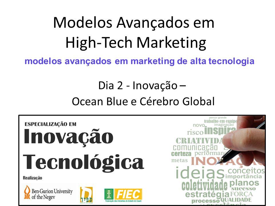 Modelos Avançados em High-Tech Marketing Dia 2 - Inovação – Ocean Blue e Cérebro Global modelos avançados em marketing de alta tecnologia