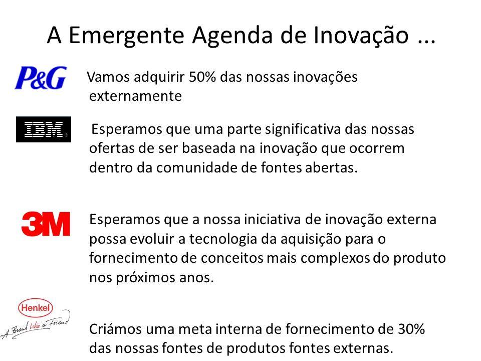 A Emergente Agenda de Inovação...