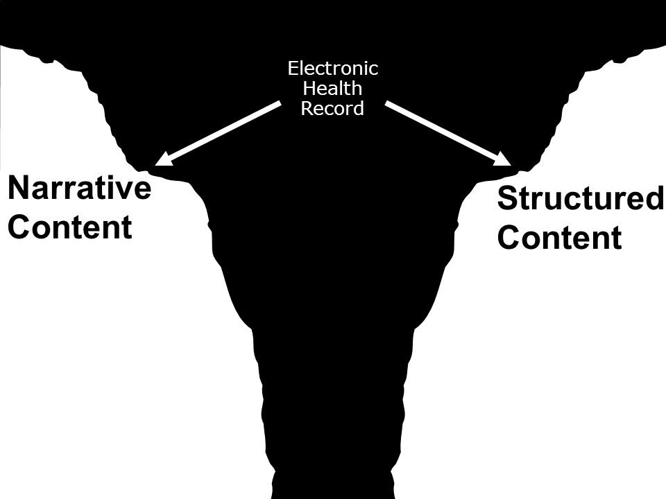 Electronic Health Record Narrative Content Structured Content