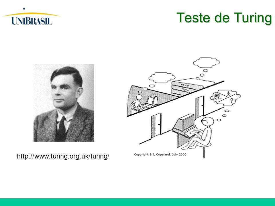 Teste de Turing http://www.turing.org.uk/turing/