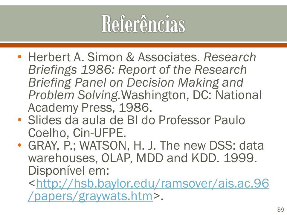 Herbert A. Simon & Associates.