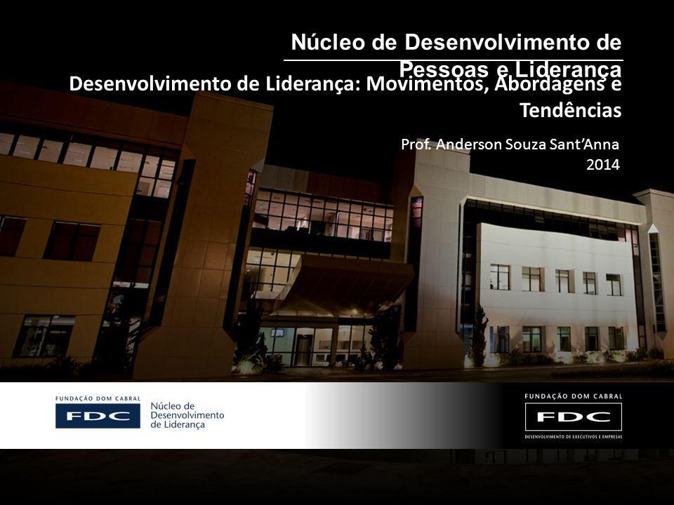 Desenvolvimento de Liderança: Movimentos, Abordagens e Tendências Núcleo de Desenvolvimento de Pessoas e Liderança Prof. Anderson Souza Sant'Anna 2014