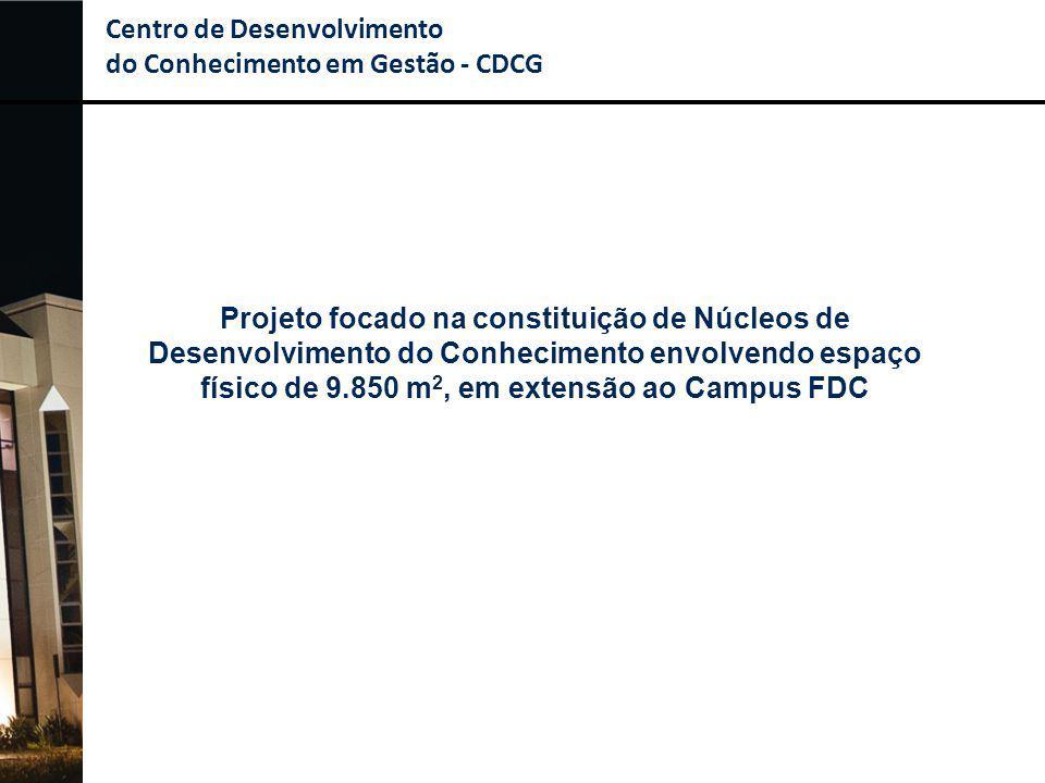 Centro de Desenvolvimento do Conhecimento em Gestão - CDCG Projeto focado na constituição de Núcleos de Desenvolvimento do Conhecimento envolvendo esp