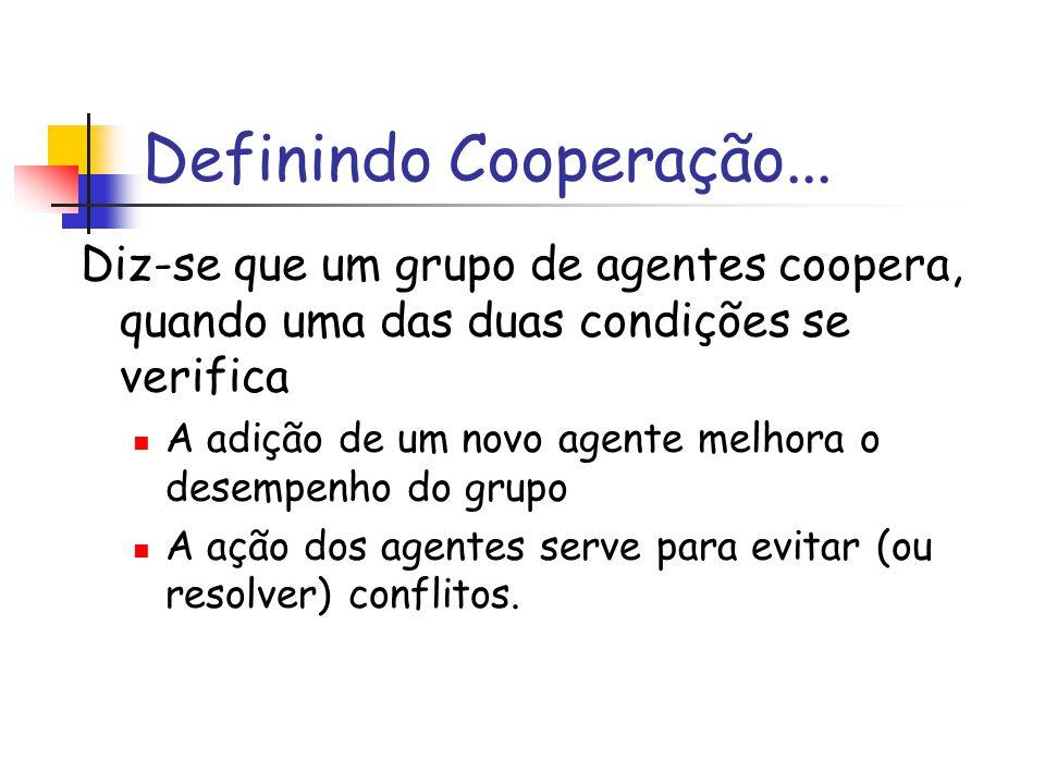 Definindo Cooperação...