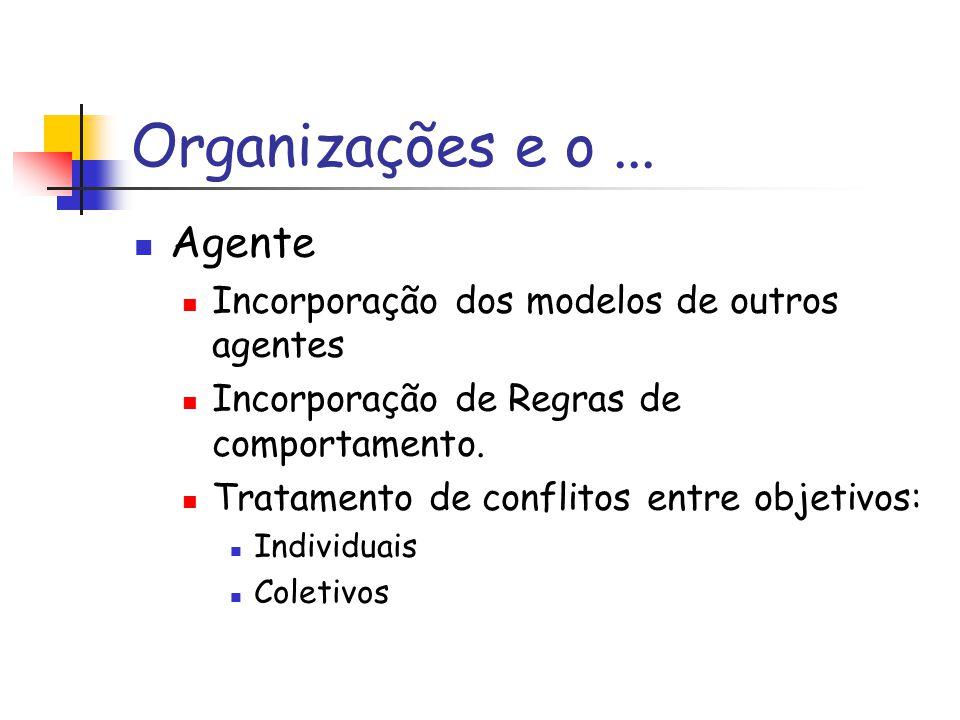Organizações e o...