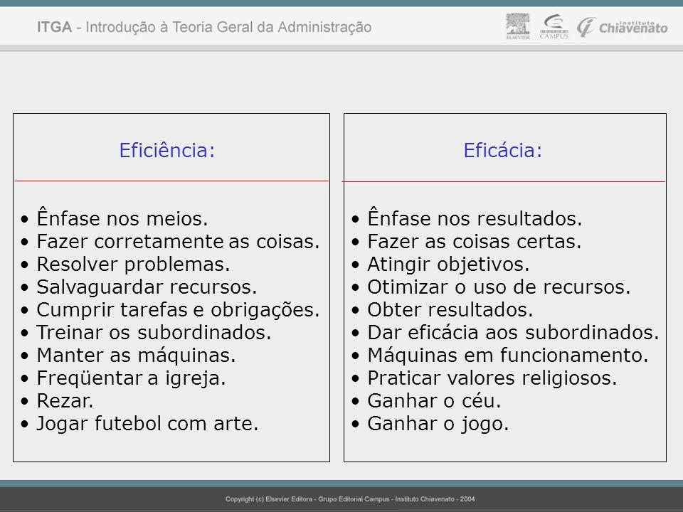 Princípios Básicos da Organização Divisão do Trabalho.