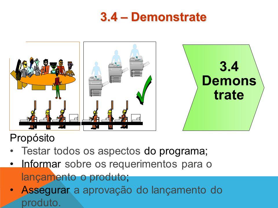 Propósito Completar o modelo; Validar os requerimentos de tecnologia e cadeia de valor; Testar o modelo; Planejar para o lançamento. 3.3 Design 3.3 –
