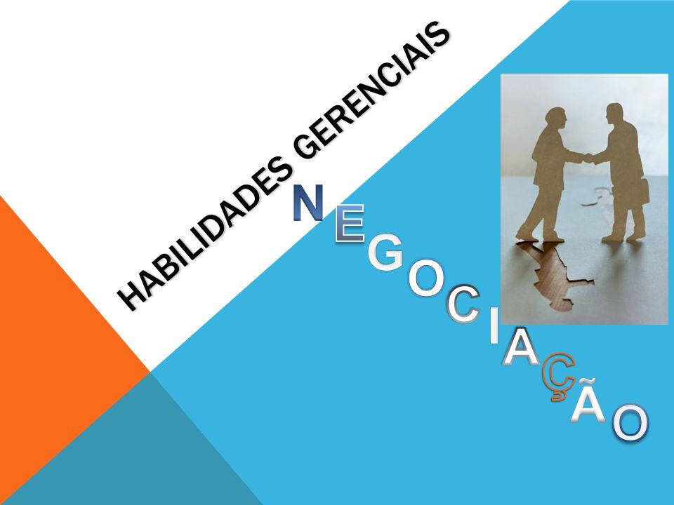 Habilidades Gerenciais Habilidades Negociação Resolução de Problemas Influência na Organização ComunicaçãoLiderança