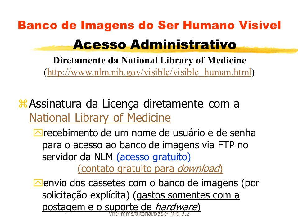 vhd-mms/tutorial/base/intro-3.2 Banco de Imagens do Ser Humano Visível Acesso Administrativo zAssinatura da Licença diretamente com a National Library
