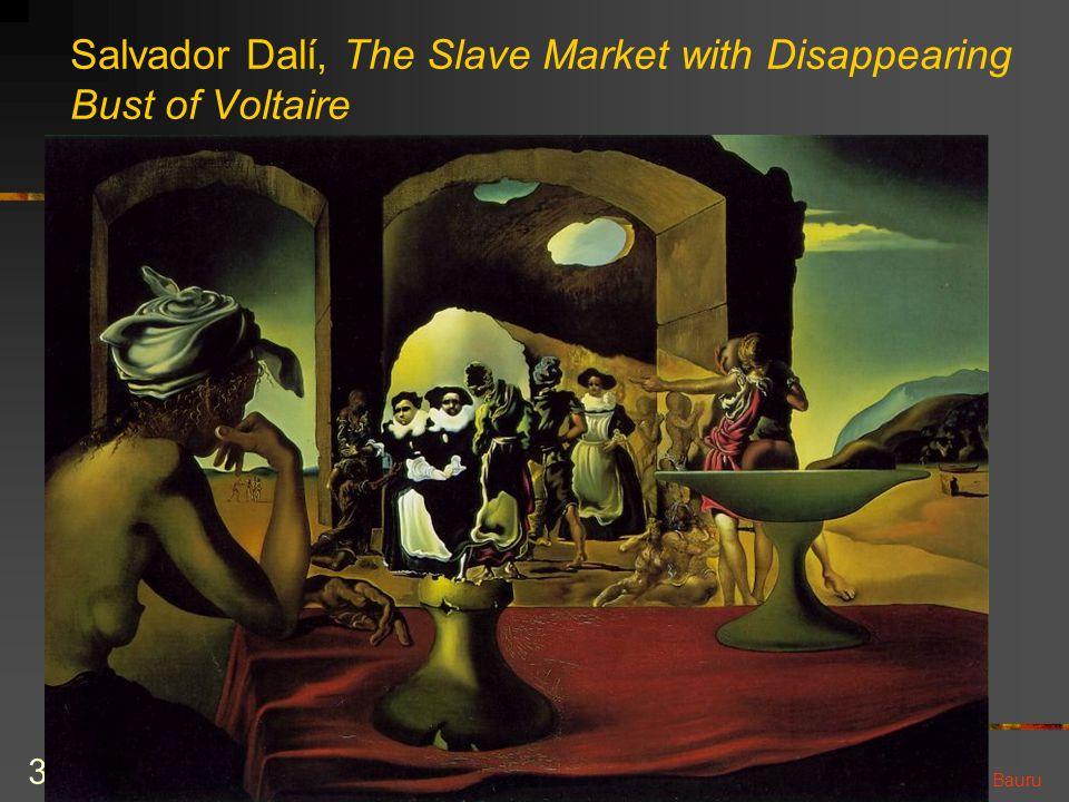 cecilia@ic.unicamp.br – II Workshop de Engenharia de Software UNESP Bauru 31 Salvador Dalí, The Slave Market with Disappearing Bust of Voltaire