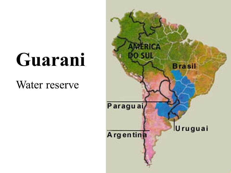 Guarani Water reserve