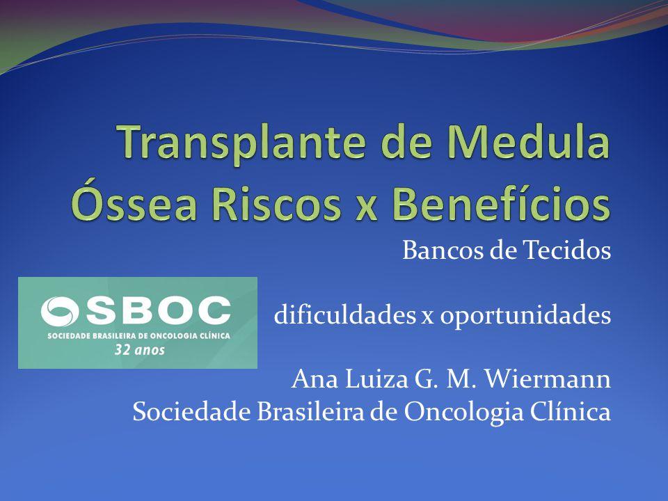 Bancos de Tecidos dificuldades x oportunidades Ana Luiza G.