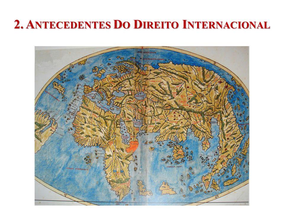 2. A NTECEDENTES D O D IREITO I NTERNACIONAL UNIDADE 1 INTRODUÇÃO GERAL